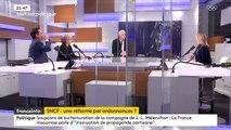 """Réformer la SNCF par ordonnances serait """"bafouer la représentation du peuple"""" pour la porte-parole LR Valérie Debord"""