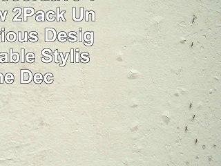 Premium Decorative Throw Pillow 2Pack  Unique Luxurious Design Comfortable  Stylish