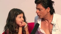 Really Cute!!! Do Watch This Video Featuring @iamsrk & @MyrahRatnani Chatting in 'Coded' Language!