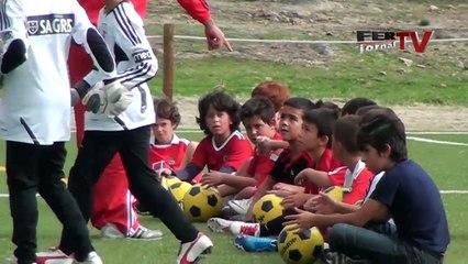 video de un entrainement du S.L. Benfica