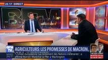 Agriculteurs: les promesses d'Emmanuel Macron
