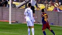 جميع اهداف كريستيانو رونالدو ضد برشلونه ( 17 هدف) وجنون المعلقين