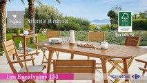 Collection Mobilier de Jardin 2016 Hyba chez Carrefour : La ...