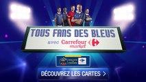 Jouez en 3D avec les Bleus ! 24 Cartes Collector à collectionner chez Carrefour & Carrefour Market