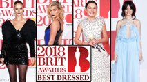 BRIT Awards 2018 BEST DRESSED : Hailey Baldwin, Millie Bobby Brown, Camila Cabello