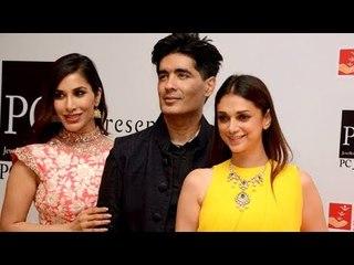 Aditi Rao Hydari Stylish Looks In Manish Malhotra Creation