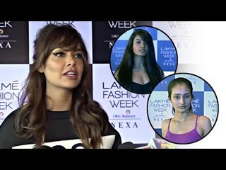 Esha Gupta At Lakme Fashion Week Models Audition