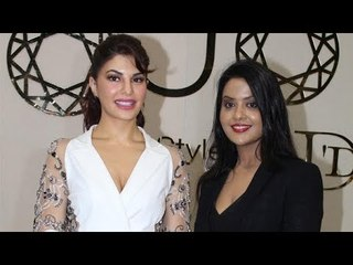 Jacqueline Fernandez At The Inauguration of Shopping Exhibition