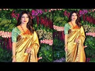 Priyanka Chopra At Anushka Sharma And Virat Kohli's Wedding Reception