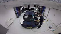 VÍDEO: el Aston Martin DB11, con los colores del F1 de Red Bull Racing, ¡gusta!