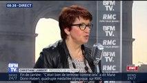 """""""Emmanuel Macron sera accueilli poliment, mais de façon très directe"""" au Salon de l'Agriculture, dit Christiane Lambert (FNSEA)"""