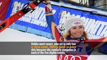 Why Mikaela Shiffrin Brought 35 Pairs of Skis to the Olympics