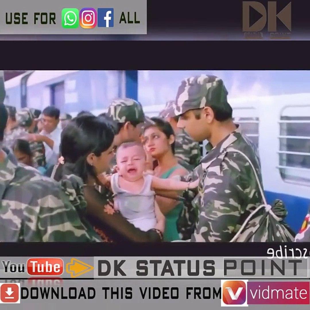5  Emotional whatsapp status video for indian army ( NAINA ASHQ NA HO)