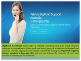 Contact Bigpond Support Number: 1800-921-785