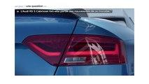 1 jour 1 question au Mondial de l'Automobile N°11 : la nouvelle Audi RS 5 Cabriolet