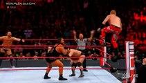 the revival vs Heath Slater & Rhyno tag team match wwe monday night raw January 29 2018
