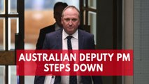Australian deputy prime minister resigns after affair with staffer