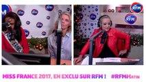 1ère interview radio de Miss France 2017 sur RFM