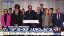 Radicalisation: Édouard Philippe annonce la création de 1.500 places de prison pour les détenus radicalisés