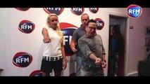 Jean-Marc Généreux donne un cours de danse à Elodie Gossuin et Bruno Robles