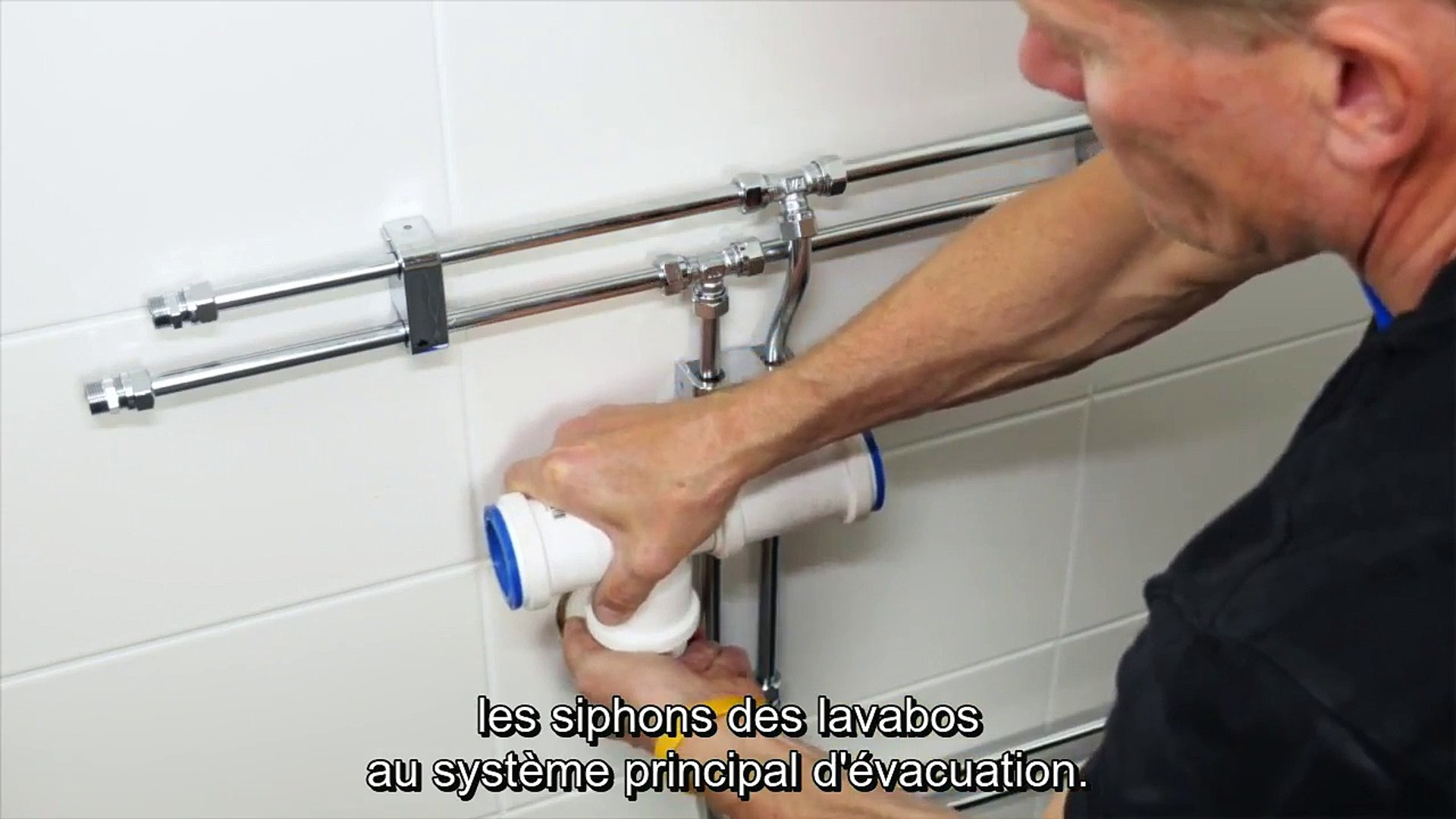 Leroy Merlin Evacuation Lavabo partie 4 : comment installer un lavabo double vasque