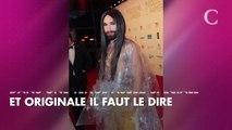 PHOTOS. Conchita Wurst fait son come-back dans une tenue étonnante et transparente