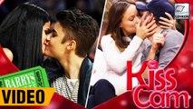 Celebs Kissing  On Kiss Cams | Selena Gomez | Leonardo Dicaprio