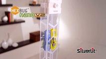 Toys''R''Us présente les micro-robots Nano HexBug V2 Silverlit
