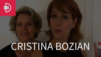 Zize Zink e Graça Salles visitam a arquiteta Cristina Bozian
