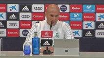 """Clasico - Zidane : """"Je veux voir comment l'OM va débuter le match"""""""