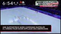 JO d'hiver : une supportrice nord-coréenne rappelée à l'ordre pour avoir applaudi des Américains (Vidéo)