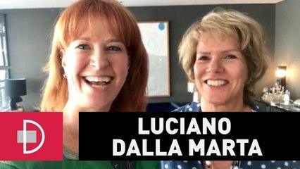Zize Zink e Graça Salles visitam Luciano Dalla Marta