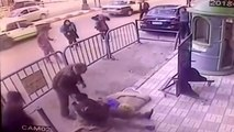 Scary Catch: Policeman Saves Falling Child