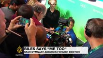 Olympic champion  Simone Biles: 'I too was sexually abused by Larry Nassar