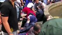 Indonesia  Stock Exchange floor collapses, many injured