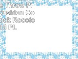 TRENDIN Cotton Linen Decorative Throw Pillow Case Cushion Cover Farm Cock Rooster 18X18