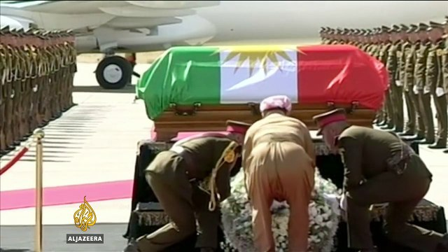 Iraqi Kurdish leader Jalal Talabani laid to rest
