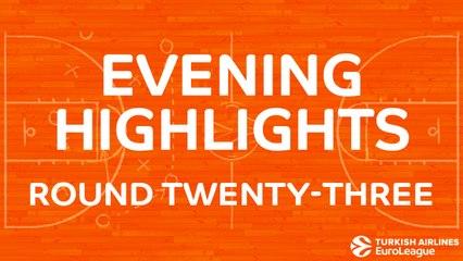 Tadim Evening Highlights: Regular Season, Round 23 - Friday