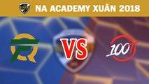 Highlights: FlyQuest Academy vs 100 Thieves Academy | NA Academy League Mùa Xuân 2018