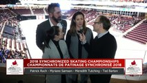 Junior Short : 2018 Skate Canada Synchronized Skating Championships (2)
