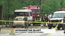 ISIL blast targets NATO convoy in Afghanistan's Kabul
