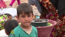 Iraqi camps struggle to aid Mosul's displaced