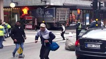 Stockholm attack : At least four dead after truck rams crowd