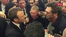 Après les sifflets, Macron au contact des agriculteurs en colère
