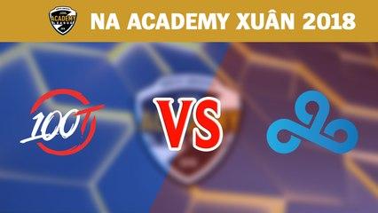 Highlights: 100 Thieves Academy vs Cloud9 Academy | Academy League Mùa Xuân 2018