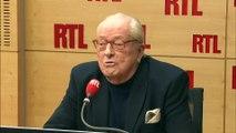 """Jean-Marie Le Pen sur RTL : """"Je tends la main"""" à Marine Le Pen"""