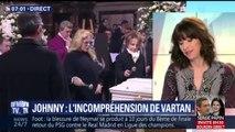 Testament de Johnny Hallyday: Sylvie Vartan fait part de son incompréhension
