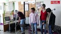 VIDEO. Le bao-pao fait son apparition à l'IME des Grouëts à Blois