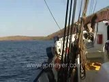 Galapagos Islands travel: Island survey from the ship.