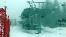 Ilgaz Dağı Kayak Merkezi'nde yoğunluk - KASTAMONU